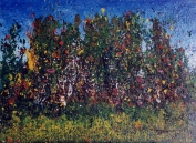 """ Buisson Psychotropical"" - Huile 1998"