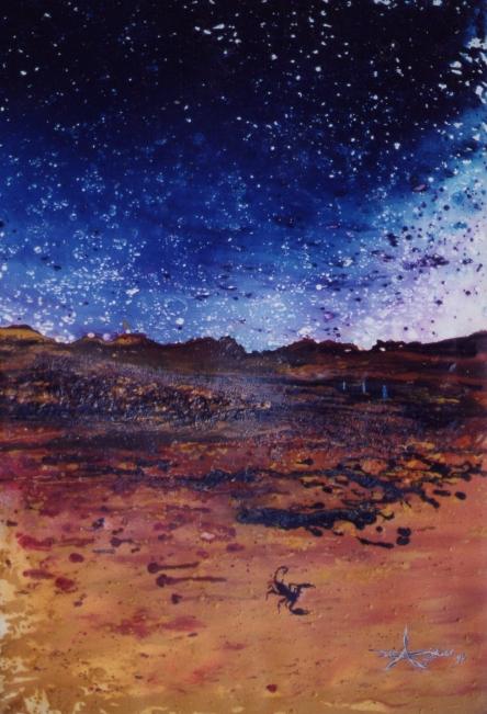 """ Pluton "" - Huile 1998"