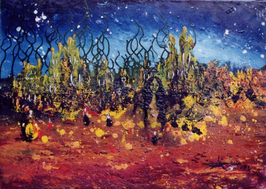 """ Walpurgis "" - Huile 1998"
